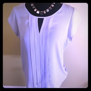 Baby Blue short sleeve blouse